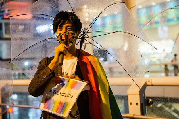 支援団体「LGBTコミュニティ江戸川」代表の七崎良輔さん