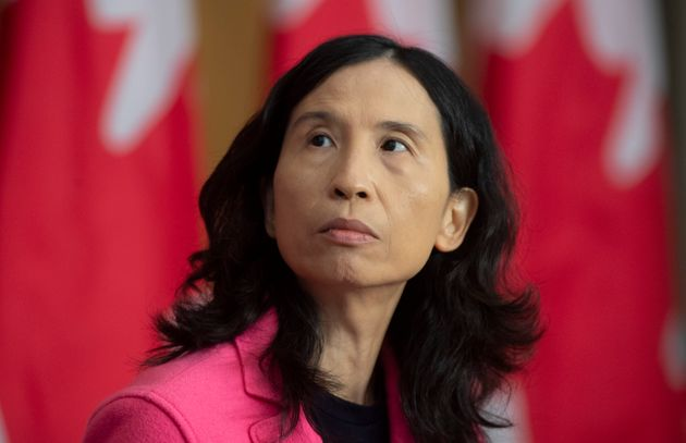 Chief Public Health Officer Theresa Tam at a news conference in Ottawa, Friday Oct. 9, 2020. Tam says...