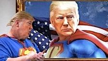 Trump Reportedly Plotted Wacky Superman Stunt For Walter Reed Discharge