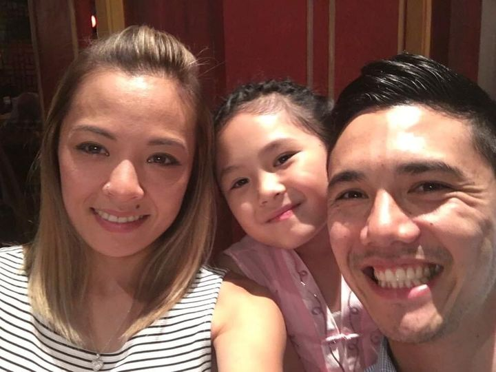 'Junior MasterChef Australia' contestant Phenix with her parents