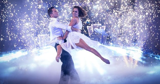 Caroline Flack and Pasha Kovalev in their show-stopping final