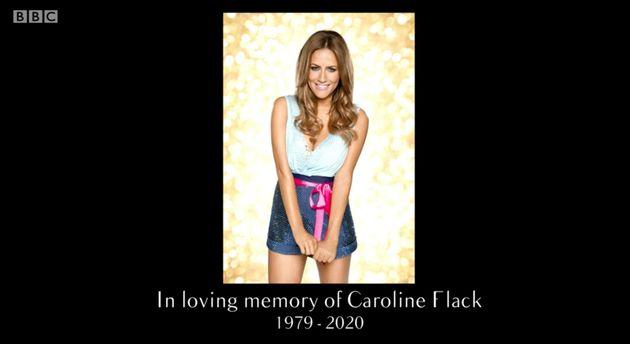 The show was dedicated to Caroline's