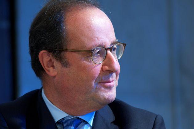 François Hollande aux