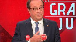 Hollande reconnaît un