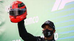 Lewis Hamilton égale le record de victoires de Michael