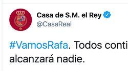 Multitud de comentarios por el mensaje de apoyo de la Casa Real a Rafa Nadal: mira la última