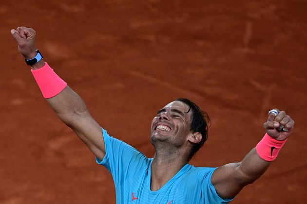 Nadal celebra su Roland Garros número