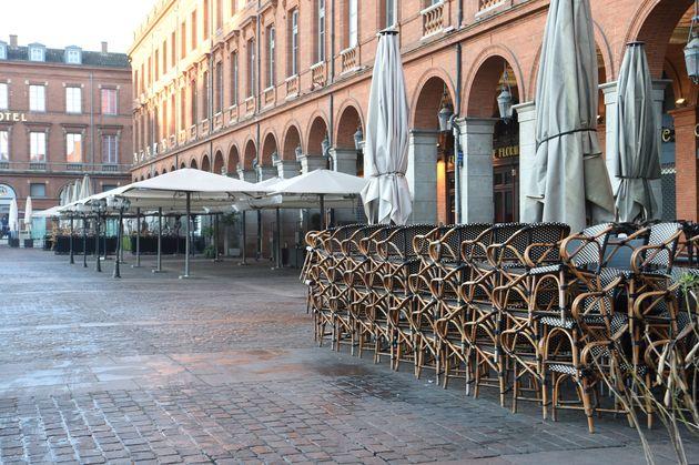 La place du Capitole, à Toulouse, le 15 mars