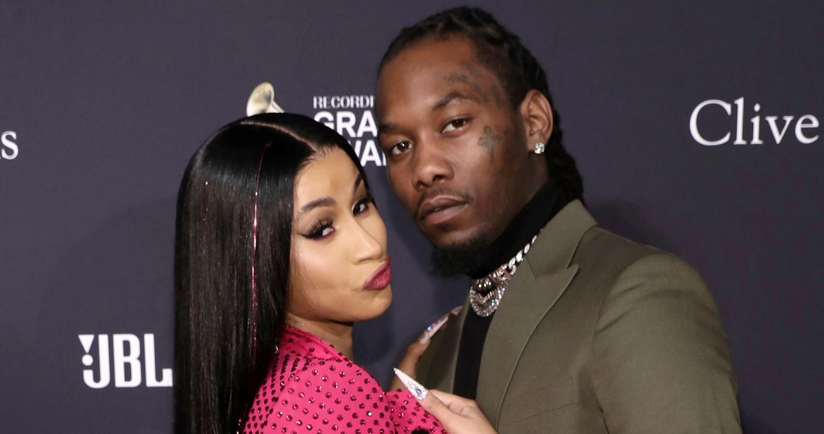 Cardi B Kisses, Twerks On Ex Offset At Birthday Bash After Filing For Divorce - HuffPost
