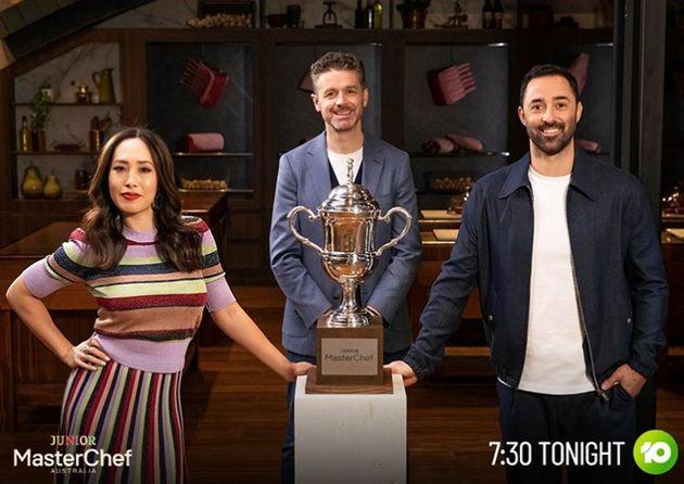 'Junior MasterChef Australia' judges Melissa Leong, Jock Zonfrillo and Andy