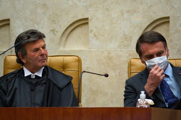 Fux submeteu ao plenário um recurso da AGU contra a decisão de Celso de Mello de que o...