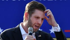 Eric Trump Says Nonexistent COVID-19 Vaccine His Dad 'Took' Worked Really