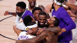 9 mois après la mort de Kobe Bryant, LeBron James et les Lakers sacrés champions