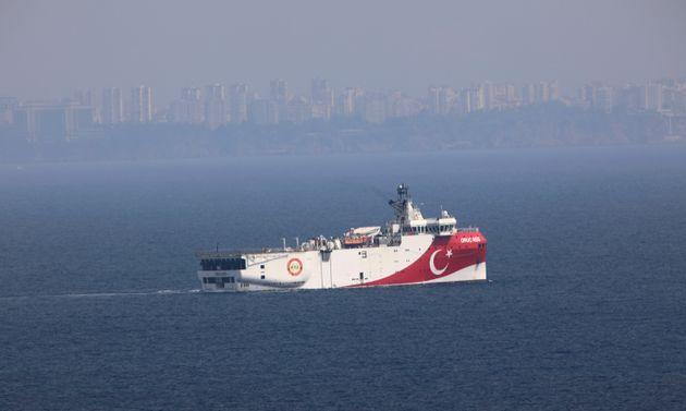 Η Τουρκία ξαναστέλνει το «Όρουτς Ρέις» για έρευνες στα ανοιχτά του