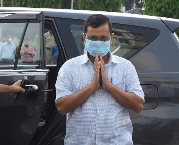 Chief minister of Delhi Arvind Kejriwal in a file