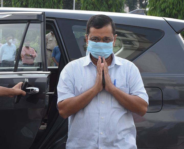 Chief minister of Delhi Arvind Kejriwal in a file photo.