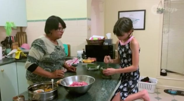 CHANNEL 10: 'Junior MasterChef Australia' contestant Georgia and her grandmother