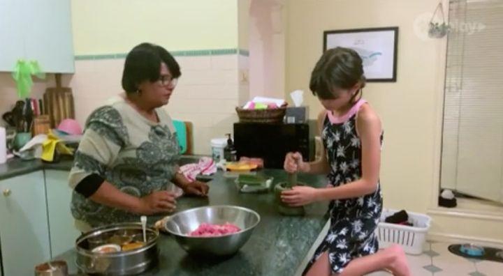 'Junior MasterChef Australia' contestant Georgia and her grandmother