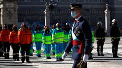 España homenajea en su fiesta nacional a los que luchan contra la