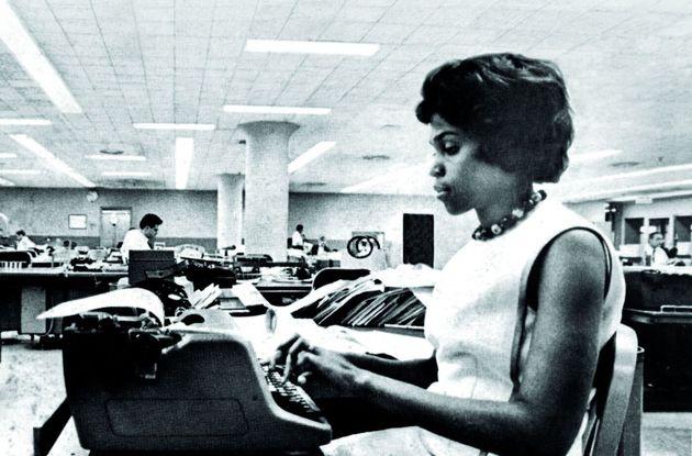 WASHINGTON, DC: Dorothy Butler Gilliam alla sua scrivania al Washington Post,