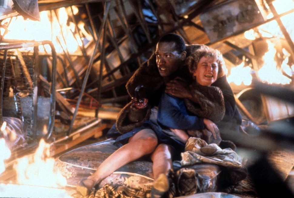 "Tony Todd and Virginia Madsen in ""Candyman."""