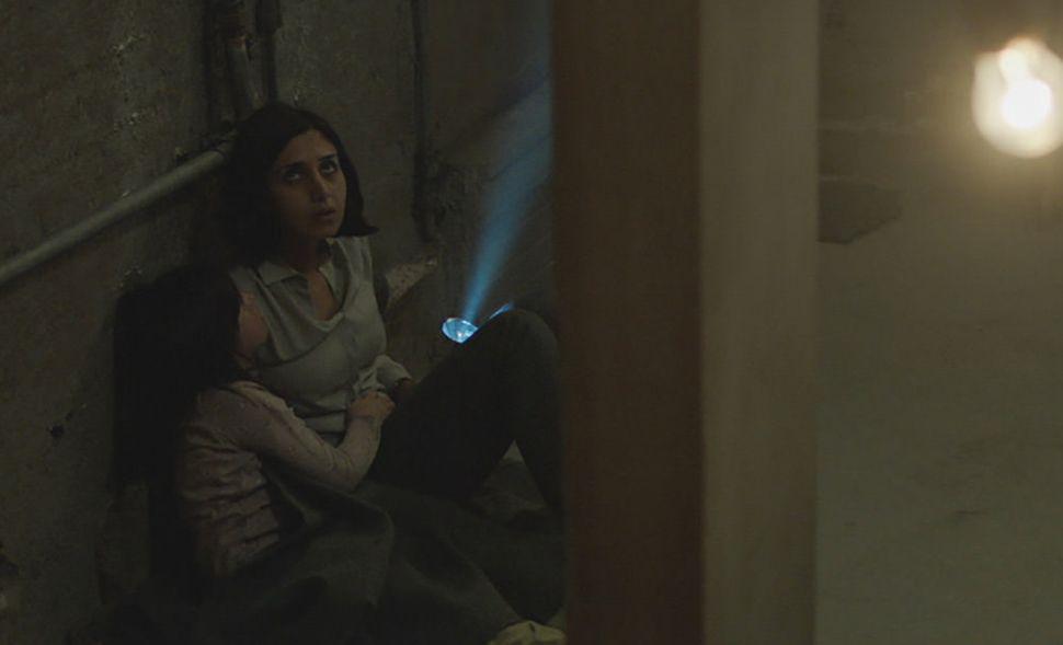 "Avin Manshadi and Narges Rashidi in ""Under the Shadow."""