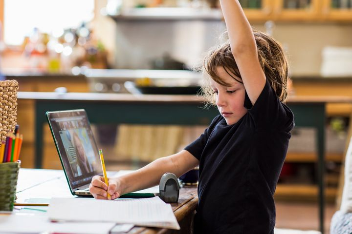 Kids need time to get used to new technology and classroom norms.