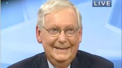 US Senator Mitch McConnell Laughs When Confronted On Senate Inaction Over