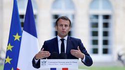 Macron se justifie face aux inquiétudes des membres de la Convention