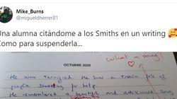 Un profesor de inglés comparte la sorpresa que se ha llevado al corregir una