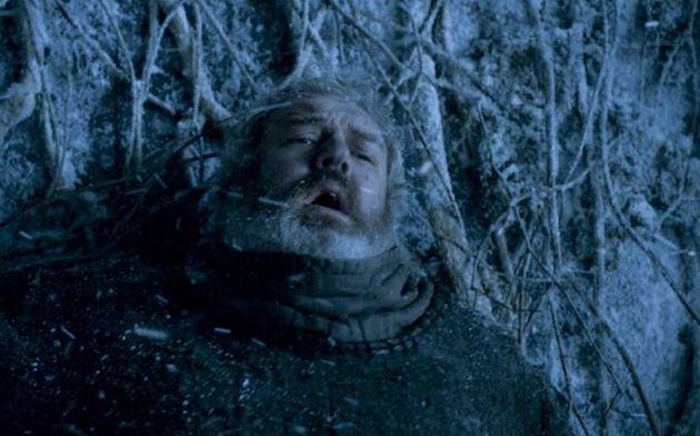 Escena de la muerte de Hodor en 'Juego de