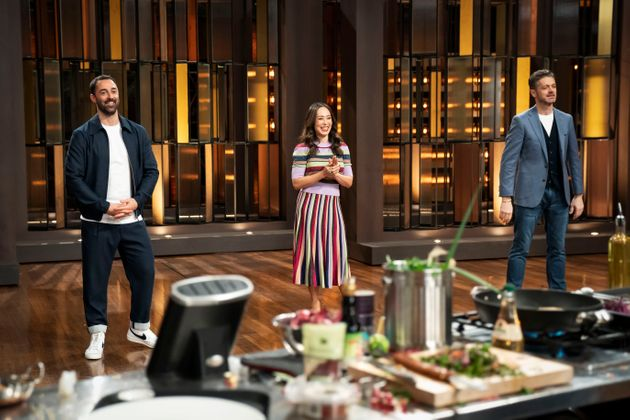 'Junior MasterChef Australia' judges Andy Allen, Melissa Leong and Jock