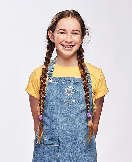 'Junior MasterChef Australia' contestant Porsha