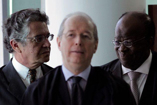 """Com perfil """"garantista"""", ministro votou pela admissibilidade de embargos infringentes de réus já condenados pelo Mensalão, que conseguiram novos julgamentos."""
