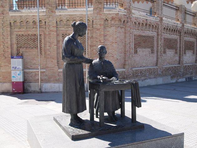 Monumento en Cádiz a 'Las