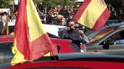 Manifestaciones en coche convocadas por Vox en el Día de la