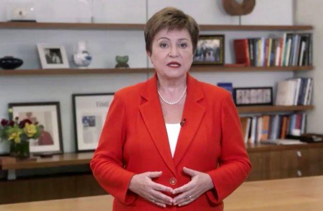 La directora general del FMI, Kristalina