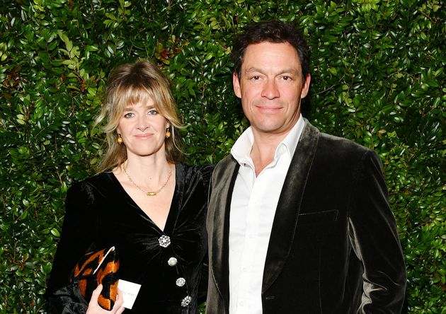 Dominic West And Wife Shut Down Speculation Over Lily James Pictures With Note And Kiss