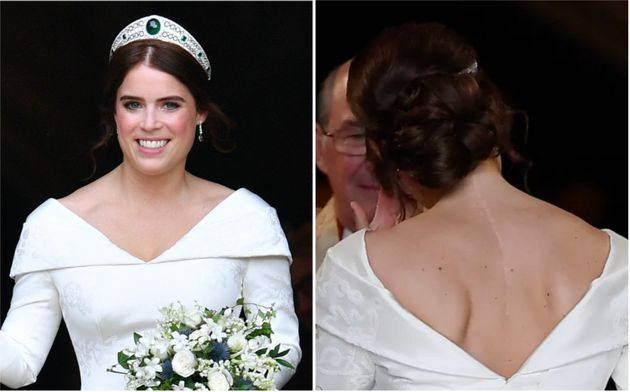 Princess Eugenie on her wedding day on Oct. 12,