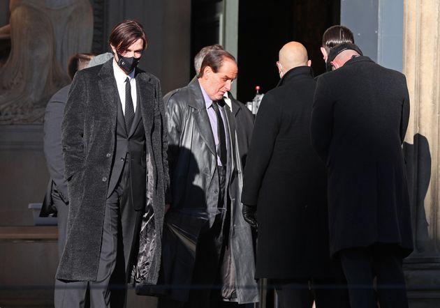 Robert Pattinson (left) will play