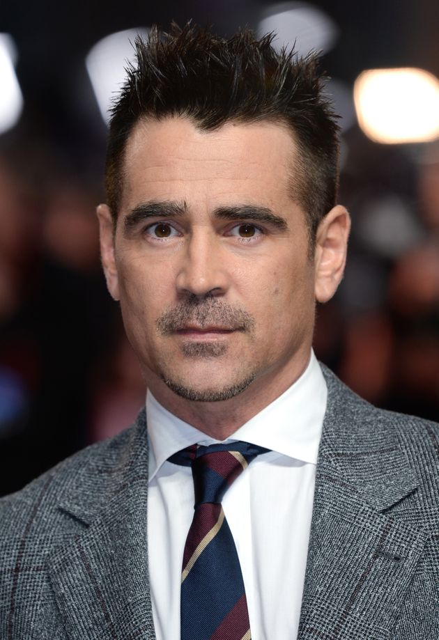 Colin Farrell as we're used to seeing
