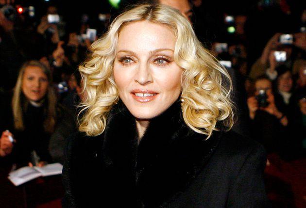 Madonna lors de la 58ème édition de la Berlinale, à Berlin, le 13 février...