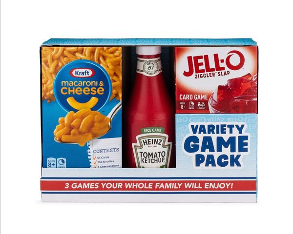 "No, these aren't edible food items and condiments, they are <a href=""http://www.biggcreative.com/games/kraft-heinz-variety-pa"