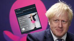 Boris Johnson détourné en ballerine après une campagne polémique du