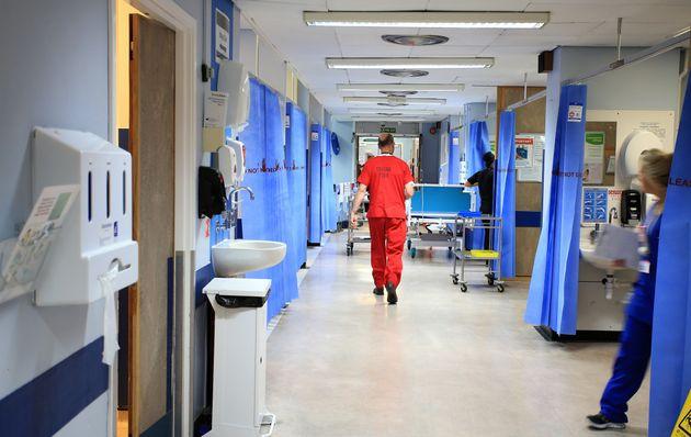 A file image of a ward at the Royal Liverpool University Hospital,