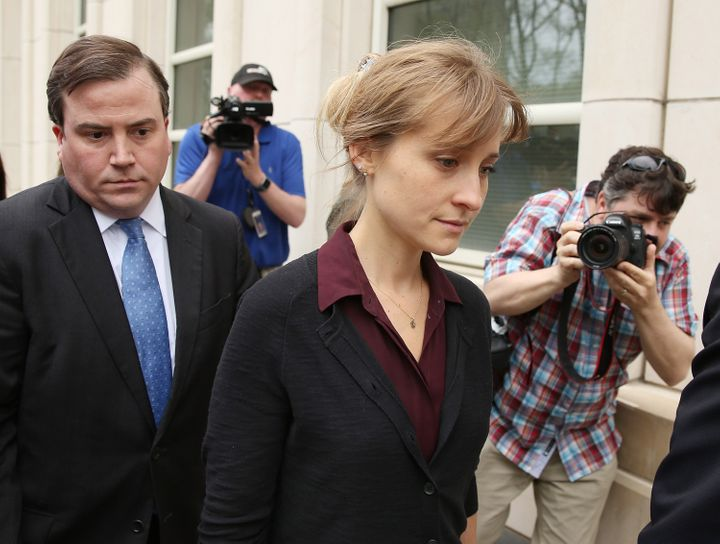 Allison Mack, who could face up to 15 years in prison, pleaded guilty in April 2019 toracketeeringcharges i