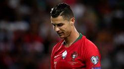 Cristiano Ronaldo atteint de la