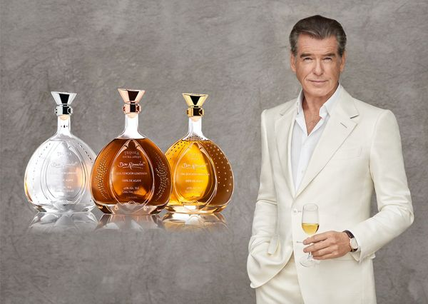 All the martinis Pierce Brosnan drank while playing James Bond must have left him shaken and stirred, because now he has&nbsp