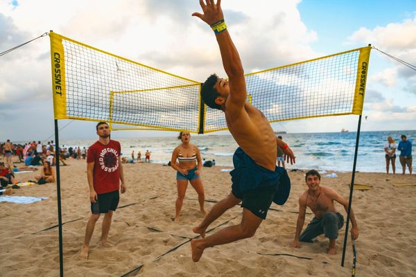 Some people in your group want to play volleyball, while others want to play Four Square. You might think this conflict could