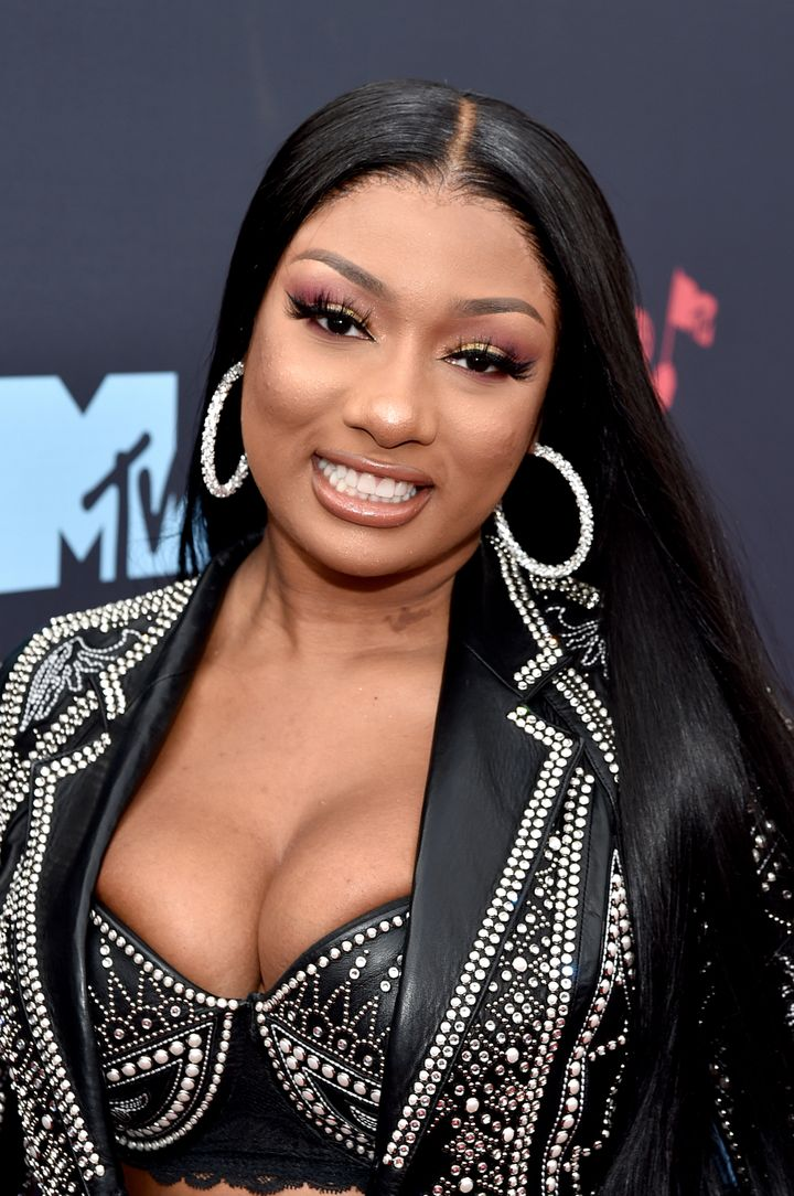 Megan Thee Stallion, here at the 2019 MTV Video Music Awards, addresses the fractured expectations surrounding Black women.